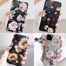 For Iphone 12 Pro Max 11 8 Plus XS Max XR Slim Floral Cute Girl Phone Case Cover
