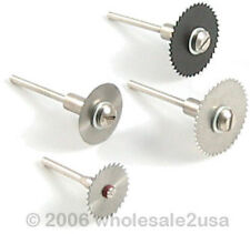 (4) Wood Working Saw Discs Cutting Blades for Dremel