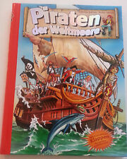 Kinderbuch Piraten der Weltmeere, Kindgerechte Illustrationen, von Sabrina, Jans