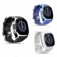 Bluetooth Smart Watch Waterproof SIM GSM Phone Mate For Android Samsung iPhone