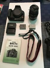 Canon EOS Rebel T1i / EOS 500D 15.1MP Digital SLR Camera - Black (Kit w/ EF-S...