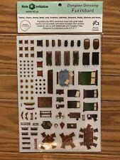 Dungeon Dressing: Furniture Vinyl Stickers