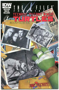 TEENAGE MUTANT NINJA TURTLES X-FILES Conspiracy #1, NM, Kevin Eastman, TMNT, A
