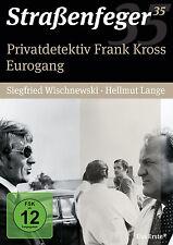 4 DVDs * STRAßENFEGER 35 - PRIVATDETEKTIV FRANK KROSS / EUROGANG # NEU OVP^