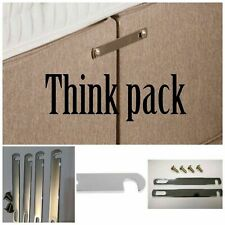 Divan Bed Base Linking Link Connecting linkage Bars Fitting Kit Nickle Plated