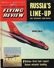 RAF FLYING REVIEW JAN 63 FACSIMILE: FRENCH VTOL/BLACKBURN BOTHA/RUSSIAN AF/HE100
