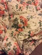 Vintage Laura Ashley Feather Filled édredon Belle Floral, Double