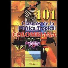 101 Clasicos De La Musica Tropical Colombiana - Dvd: Colombia Que Linda Eres