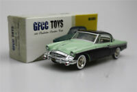 green GFCC TOYS  1:43  1955 Studebaker Speedster-Coupe Alloy car model sports