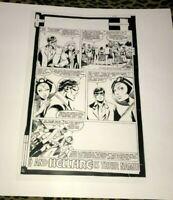 Uncanny X-Men Kitty Pride Storm Cyclops John Byrne Production Art Acetate rare