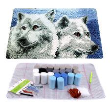 Wolf Latch Hook rugs carpets cross-stitch kits Carpet embroidery Kit 30x50cm