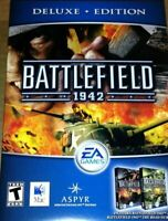 Battlefield 1942 Deluxe Edition New w/ Road to Rome for Mac