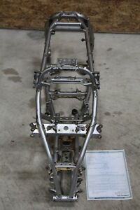 2004 Yamaha YFZ450 frame SILVER clean straight yfz 450 04 clean paperwork