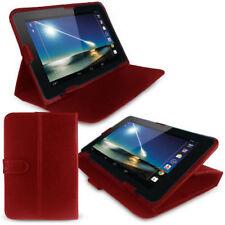 """Carcasas, cubiertas y fundas rojas de piel sintética para tablets e eBooks 7,7"""""""