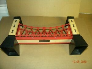 Thomas and Friends Suspension Bridge Wood Train Track Brio Toys R Us