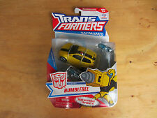 Transformers Action Figure deluxe class Animated Autobot Bumblebee 2008 new