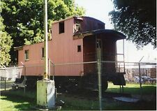 5E545 RP CABOOSE NORTHERN PACIFIC RAILROAD ELLESBURG WA 1998