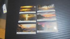 PITCAIRN ISLANDS 2008 SG 768-773 SUNSETS MNH