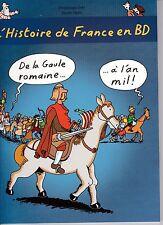 BD JOLY HEITZ L'HISTOIRE DE FRANCE EN BD T2ECOLE DES LOISIRS PORT A PRIX COUTANT