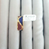 585er Goldring mit 6 Diamanten 0,09ct. SI/TW Gr.56 UVP 1018€ Herst. in BRD