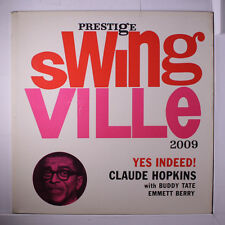 CLAUDE HOPKINS: Yes Indeed! LP (Mono, deep groove original, RVG, clear taped se