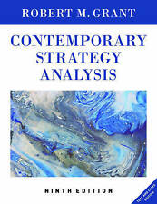 Contemporary Strategy Analysis 9E, Text and Cases  Edition by Robert M. Grant...