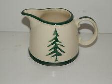 Dansk Nordic Knits Green Pine Tree Creamer New Free Shipping