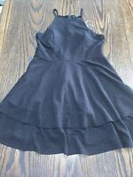 Brand New Three Pink Hearts Little Black Dress Sparkly Dance L Large Lg $58 Lace