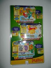 My First Leap Pad Books Cartridges Poohs Honey Tree Writing Math New 3 Pack Lot