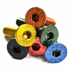 M3 GWR Colourfast® Countersunk Screws - A2 Stainless Steel Coloured Socket Bolt