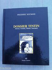 Tintin - Dossier Tintin par Frédéric Soumois -  1987 - ETAT NEUF - TRES RARE!!