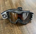 Retro Old Skool Von Zipper Wisenheimer Goggles Black/White Vintage Snowboard Ski