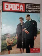 EPOCA Zhukov Malenkov Judy Garland Marcella Mariani Audrey Hepburn De Grada di