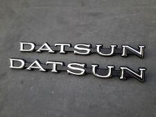 Datsun Cedric 330 280C 260C 240C Side Emblems Badge Genuine NOS JAPAN