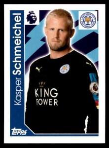 Merlin Premier League 2017 - Leicester City Kasper Schmeichel No.121
