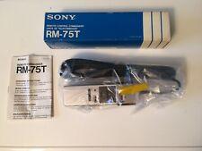 Sony-RM-75T-télécommande pour Sony CL-C5 vidéo Betamax Recorder VTR BETA neuve