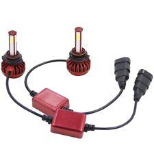 9005 HB3 6000K 80W 16000LM 4-Sided LED High Beam Headlight Kit White Bulbs Pair