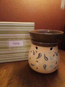 Scentsy Warmer ~Paisley~ Retired