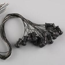20pcs Model Railway Lamppost Lamps Mixed Colour Lawn Lights HO Scale 6V