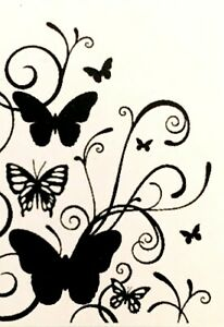 Butterfly Embossing Folders Flourish Kaisercraft Craft Folder Insects EF237