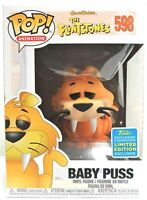 Funko Pop Baby Puss # 598 The Flintstones SDCC 2019 Vinyl Figure New