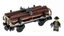 LEGO® City Eisenbahn Holzwaggon & Figur aus Güterzug 60198 NEU ohne Bauanleitung