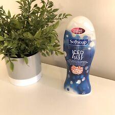 Softsoap ICED KISS w/ Peppermint, Moisturizing Body Wash Gel 18 oz, Limited Ed