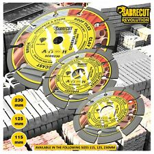 SabreCut Professional Diamond Cutting Disc Blade for Angle Grinders 115-230mm