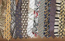 Bachrach, Ruffini etc. LOT 12 Men Neckties 100 % Silk Made in Italy (LOT 2346)