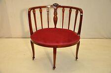 Beautiful Antique Inlaid Sheraton Style Mahogany corner chair, 19th Century