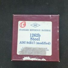 Nist Standard Reference Material 1262b Steel Aisi 94b17
