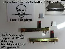 Uher EQ 300 Equalizer, 2x12 Kanal Spare Parts, 2x SRegler Einh., Top, Ultra Rar