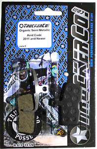 TruckerCo Organic disc brake Pads Sram Avid Code 2011+ R RSC Guide RE RSDH osm5