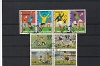 s. tome e principe  used football stamps ref r12584